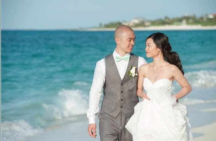 Couple on the beach, Destination Wedding and Event Planning, Bridal Solutions